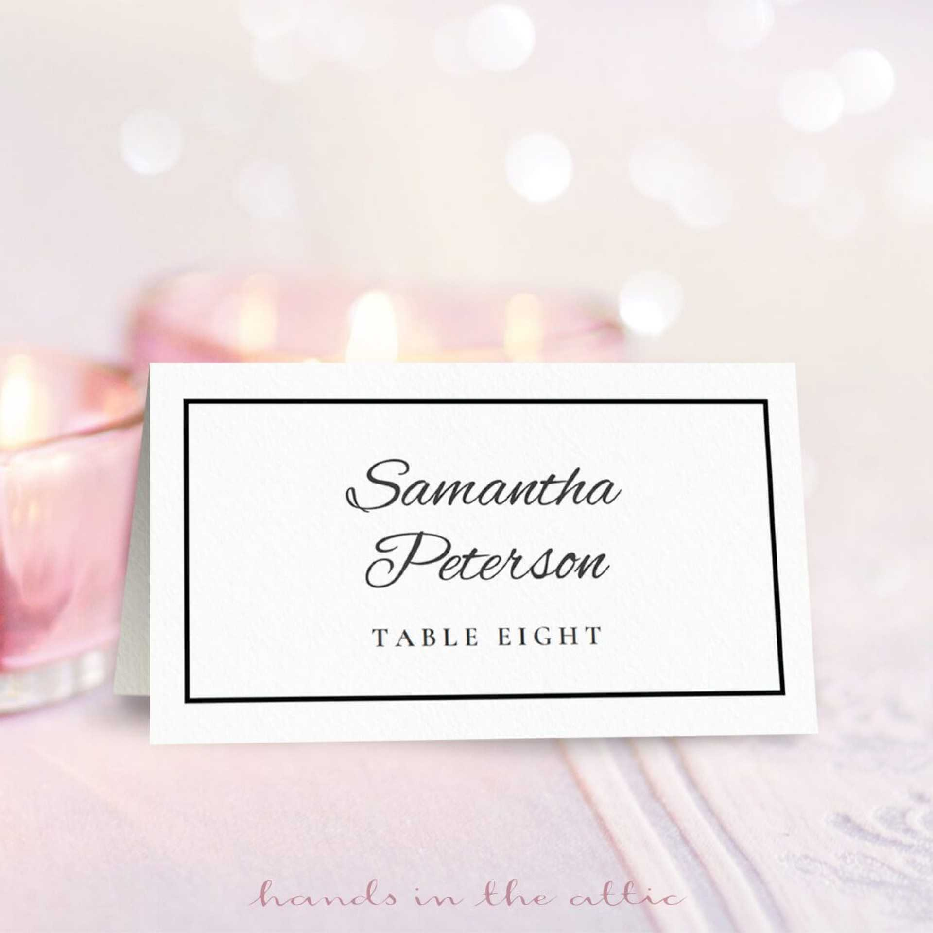 002 Christmas Table Name Cards Template Free Unforgettable With Regard To Christmas Table Place Cards Template