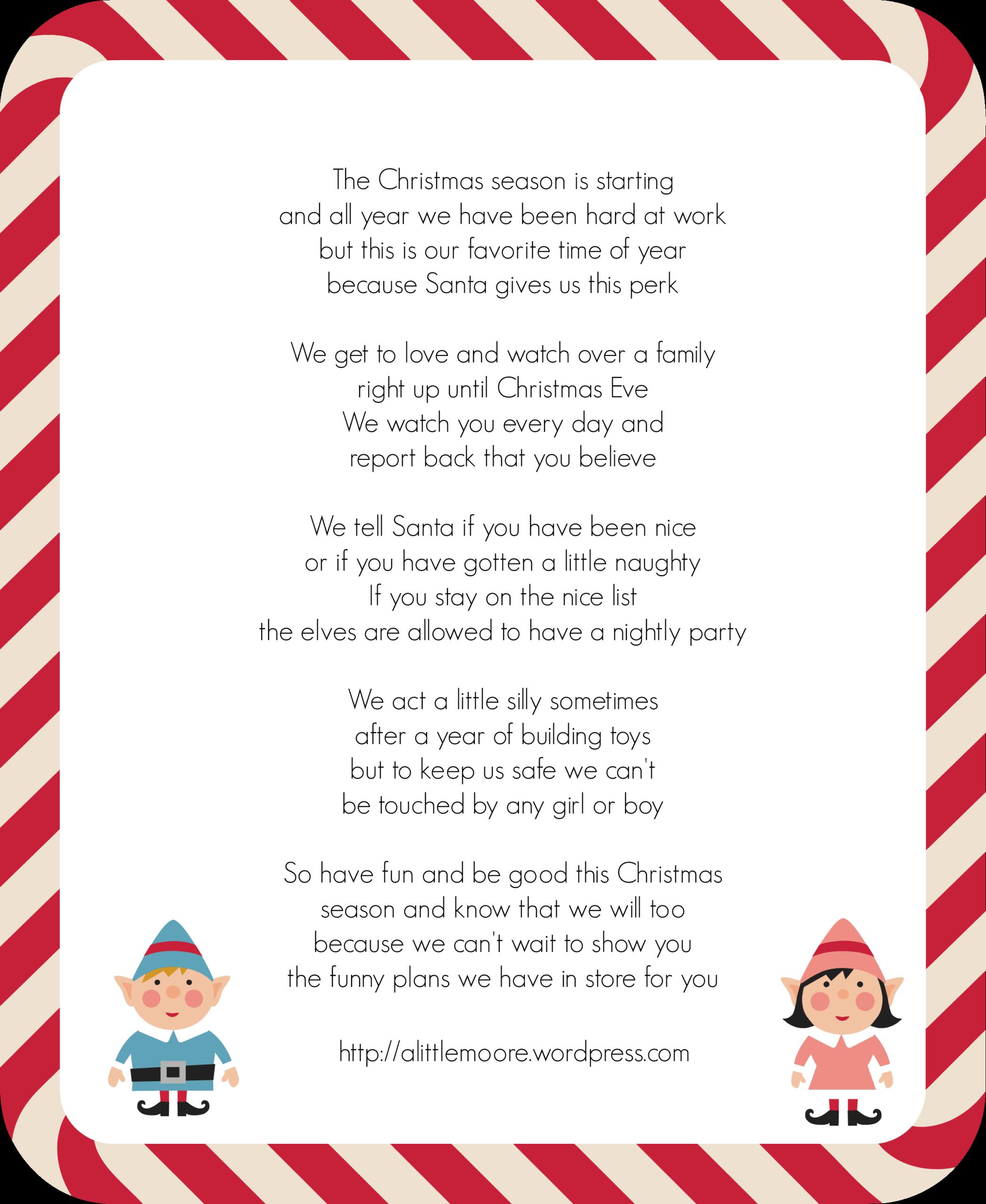 002 Santa2Bletter2B252812529 Template Ideas Elf On The Shelf Regarding Elf On The Shelf Letter From Santa Template