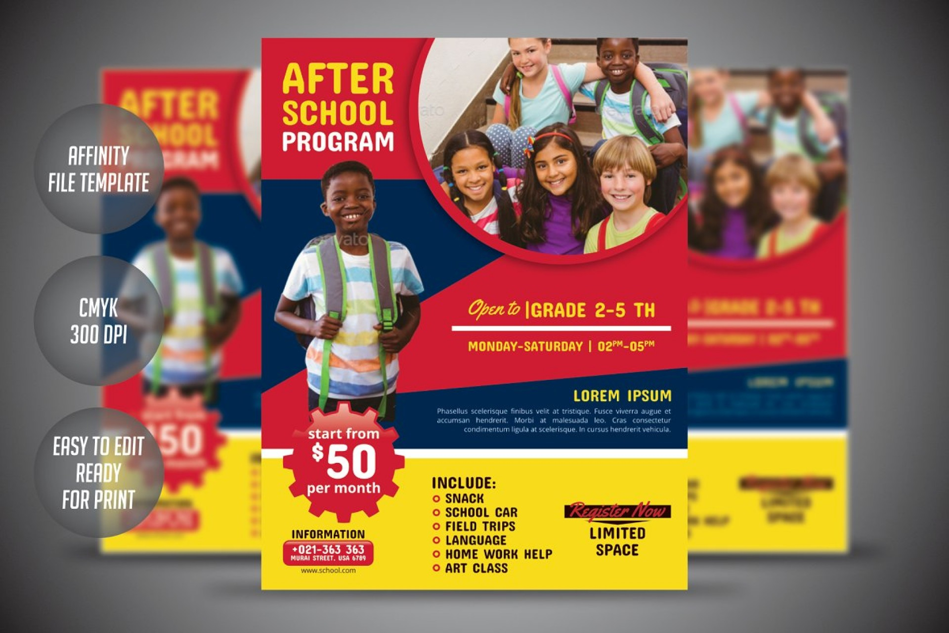 002 School Flyer Template Free Education Templates Unusual Pertaining To Free Education Flyer Templates
