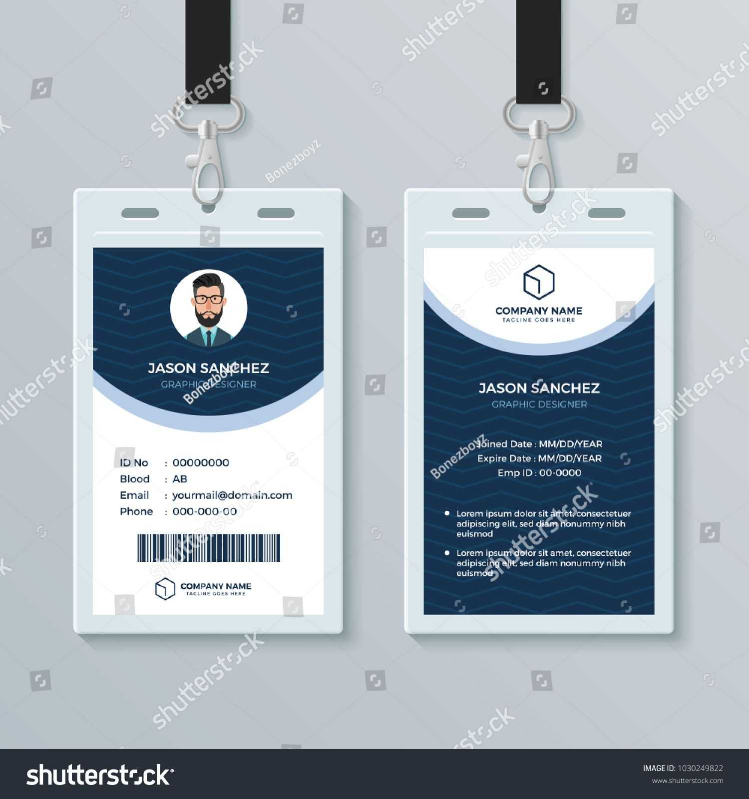 003 Free Id Card Template Fascinating Ideas Student Download In Free Id Card Template Word