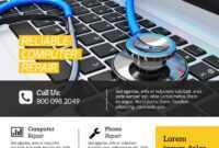 003 Template Ideas Computer Repair Flyer Professional with regard to Computer Repair Flyer Word Template