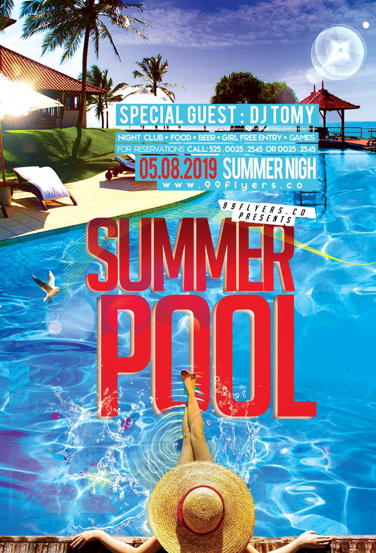 003 Template Ideas Dd5Gc23 Min Free Pool Party Flyer For Free Pool Party Flyer Templates