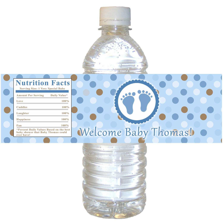 003 Template Ideas Personalized Water Bottle Labels Throughout Free Custom Water Bottle Labels Template