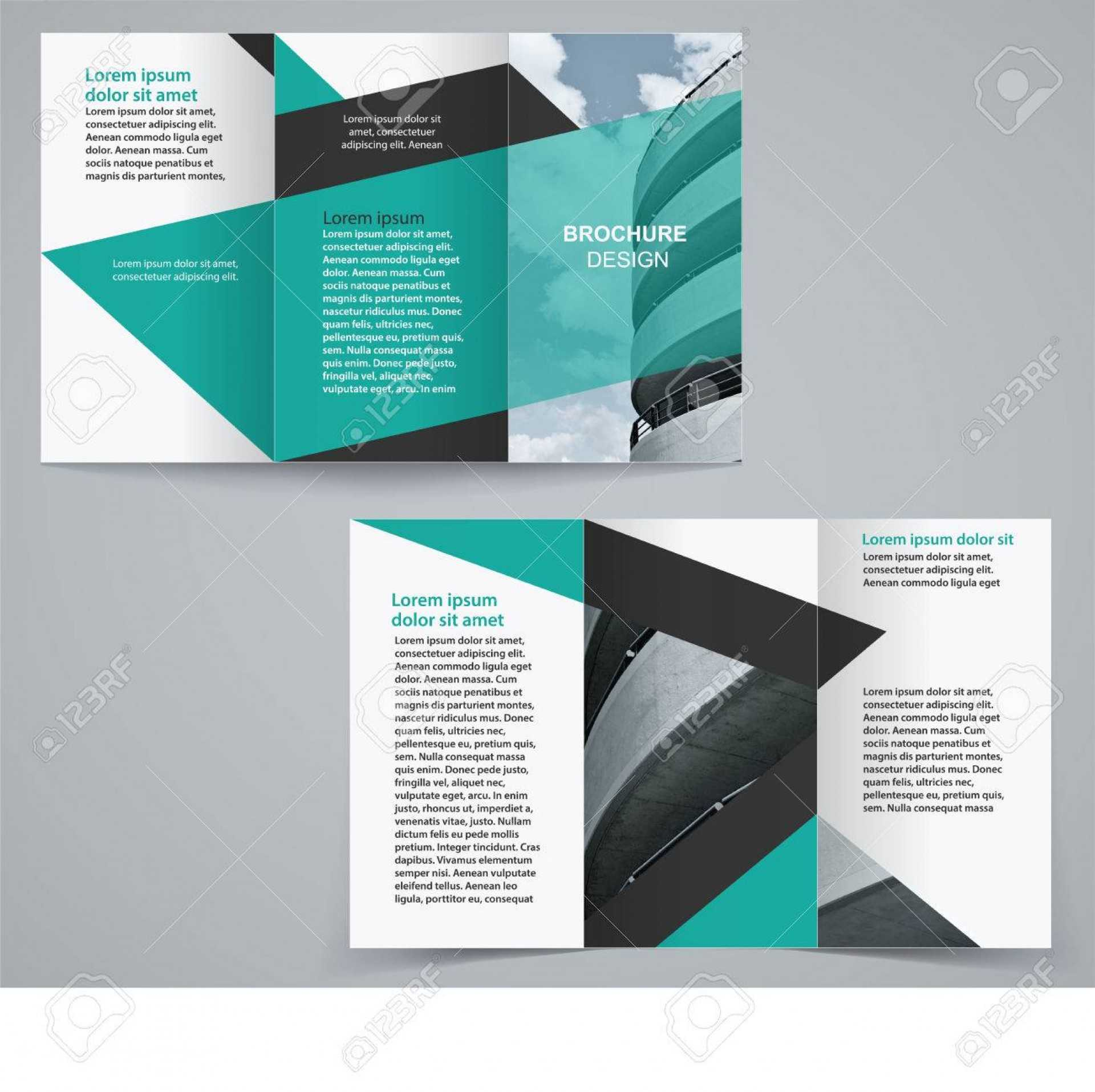 004 Double Sided Brochure Template Ideas Rare Two Word Regarding Double Sided Tri Fold Brochure Template