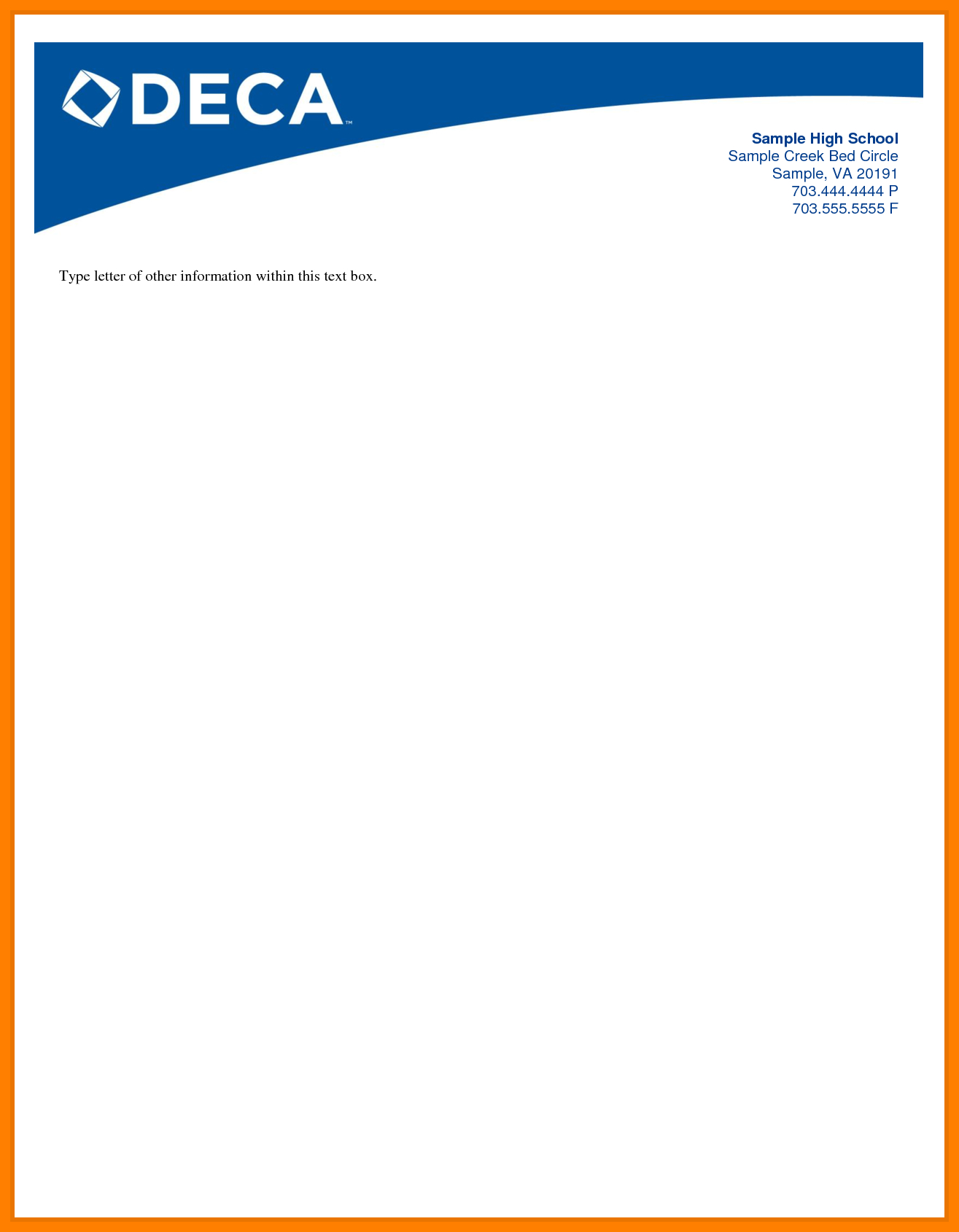 004 Template Ideas Letterhead Sample Doc Free Download Intended For Company Letterhead Template Doc