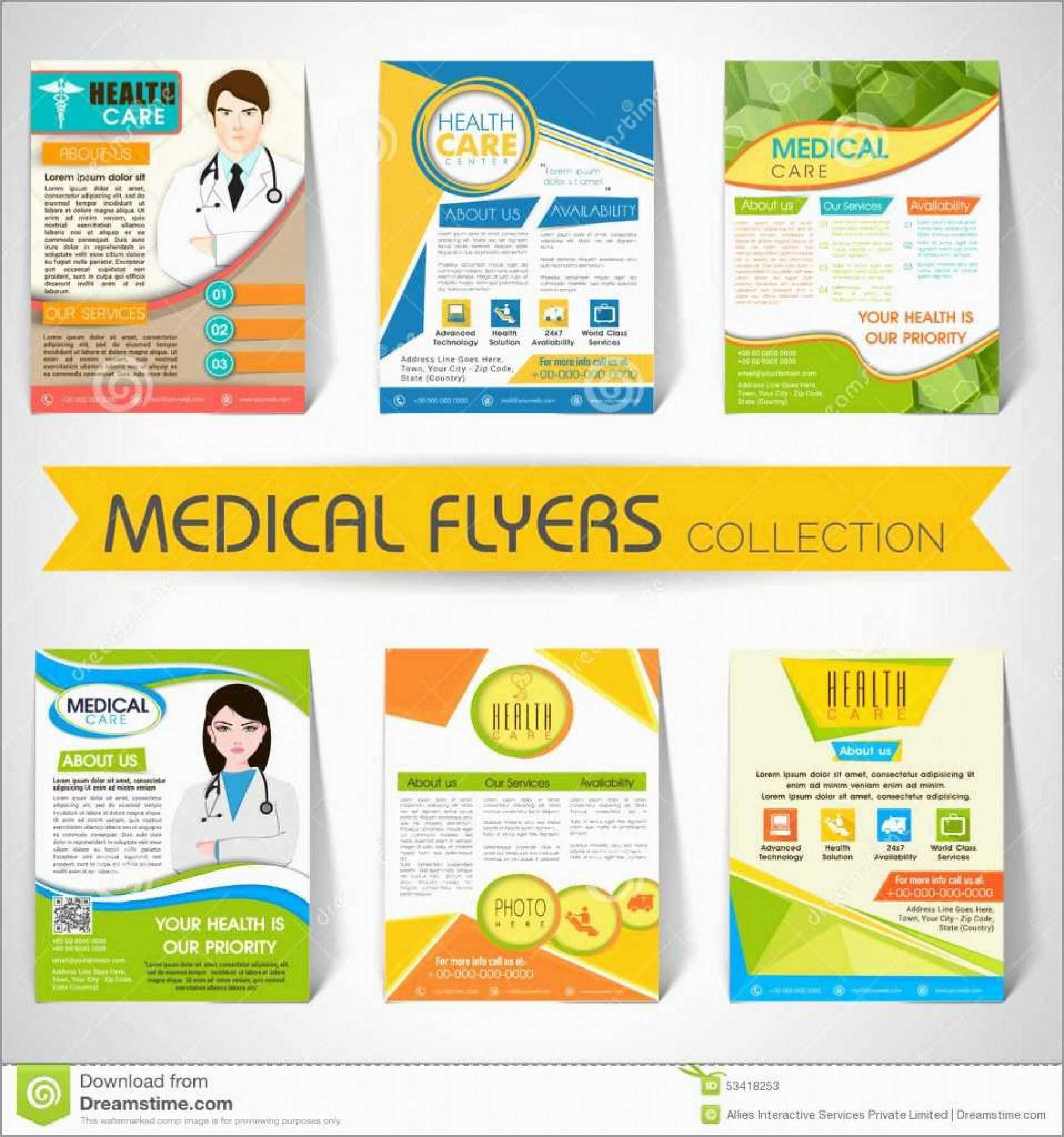 005 Free Health Fair Flyer Template Navos Healthfair Within Free Health Flyer Templates