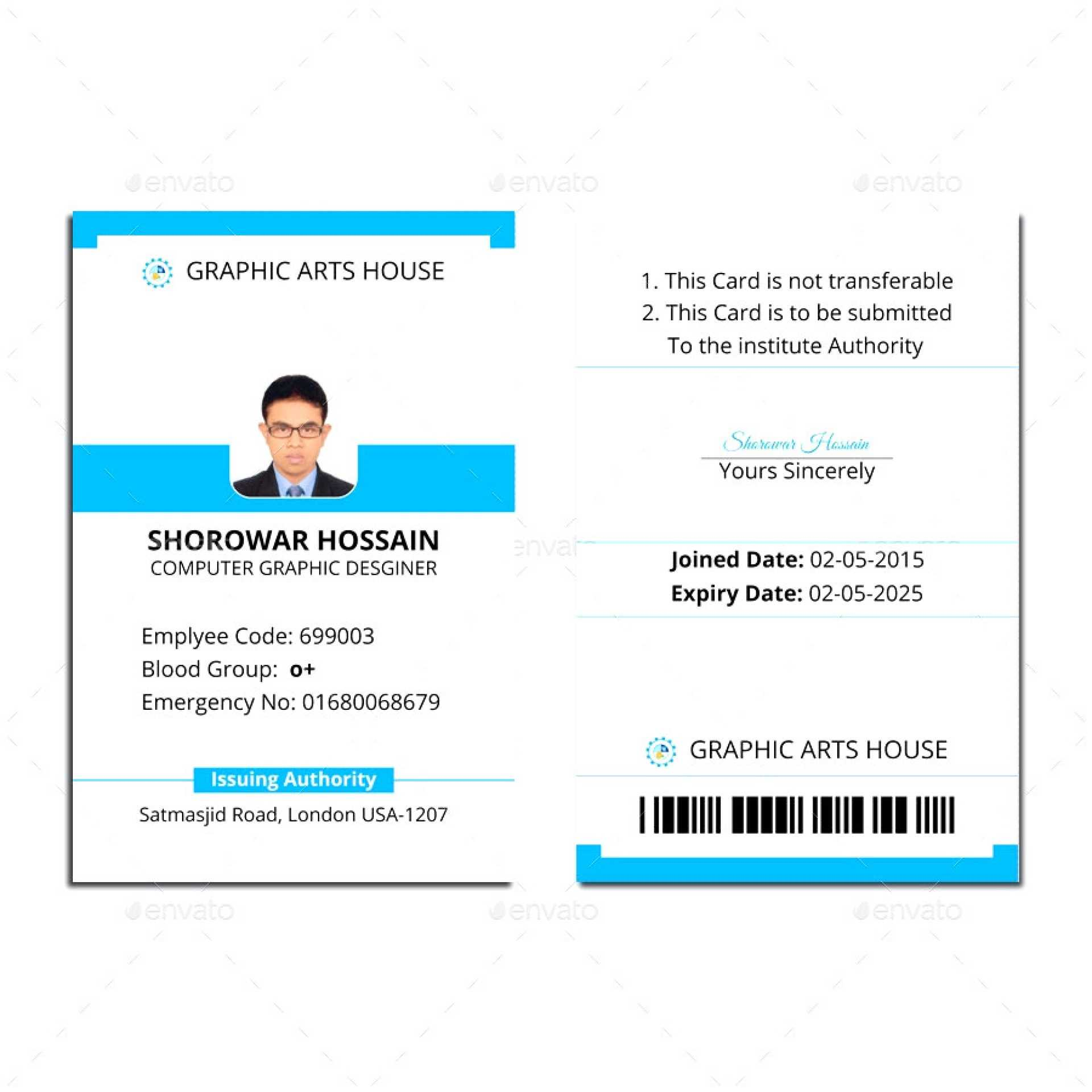 006 Id Card Template Word Ideas 1920X1920 Employee Microsoft Intended For Free Id Card Template Word