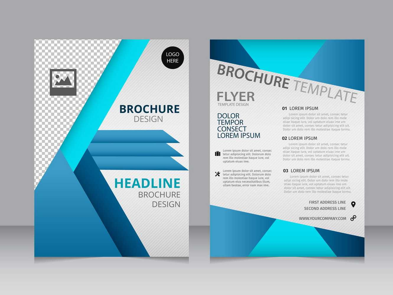 007 Blank Brochure Templates Free Download Word Template Throughout Free Illustrator Brochure Templates Download