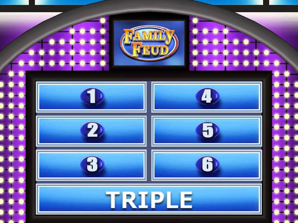 007 Family Feud Powerpoint Template Ideas Beautiful Pertaining To Family Feud Powerpoint Template Free Download
