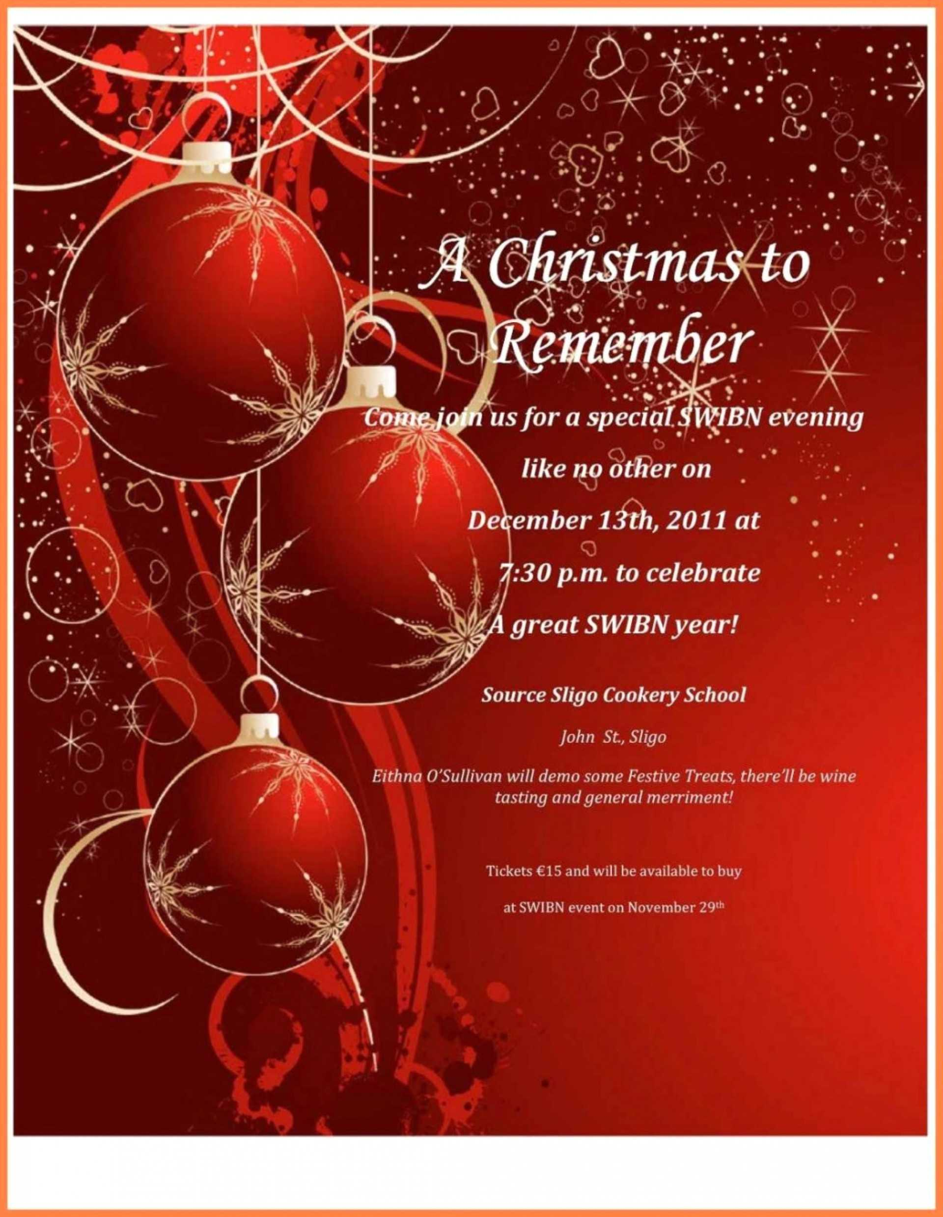 007 Free Microsoft Word Christmas Flyer Templates Holiday Intended For Christmas Brochure Templates Free