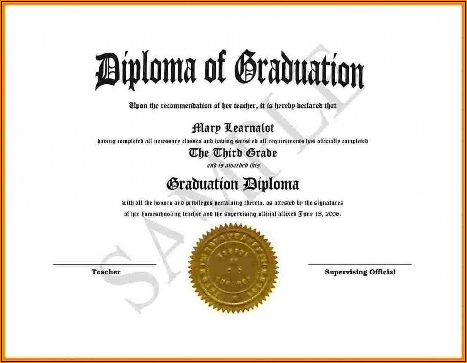 008 Template Ideas Diploma Free Download Awful Certificate Pertaining To Fake Diploma Certificate Template