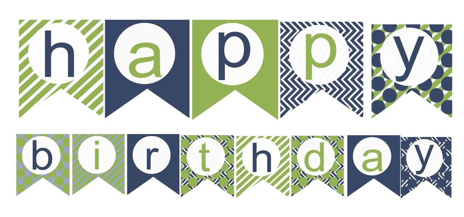 009 Happy Birthday Banner Template Unbelievable Ideas Word Intended For Free Printable Party Banner Templates