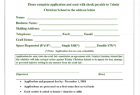 010 Printable Registration Form Template Ideas Unique Free regarding Event Vendor Application Template
