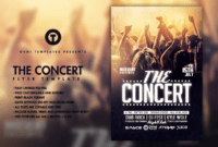 011 Template Ideas Free Concert Poster Unique Christmas intended for Concert Flyer Template Free