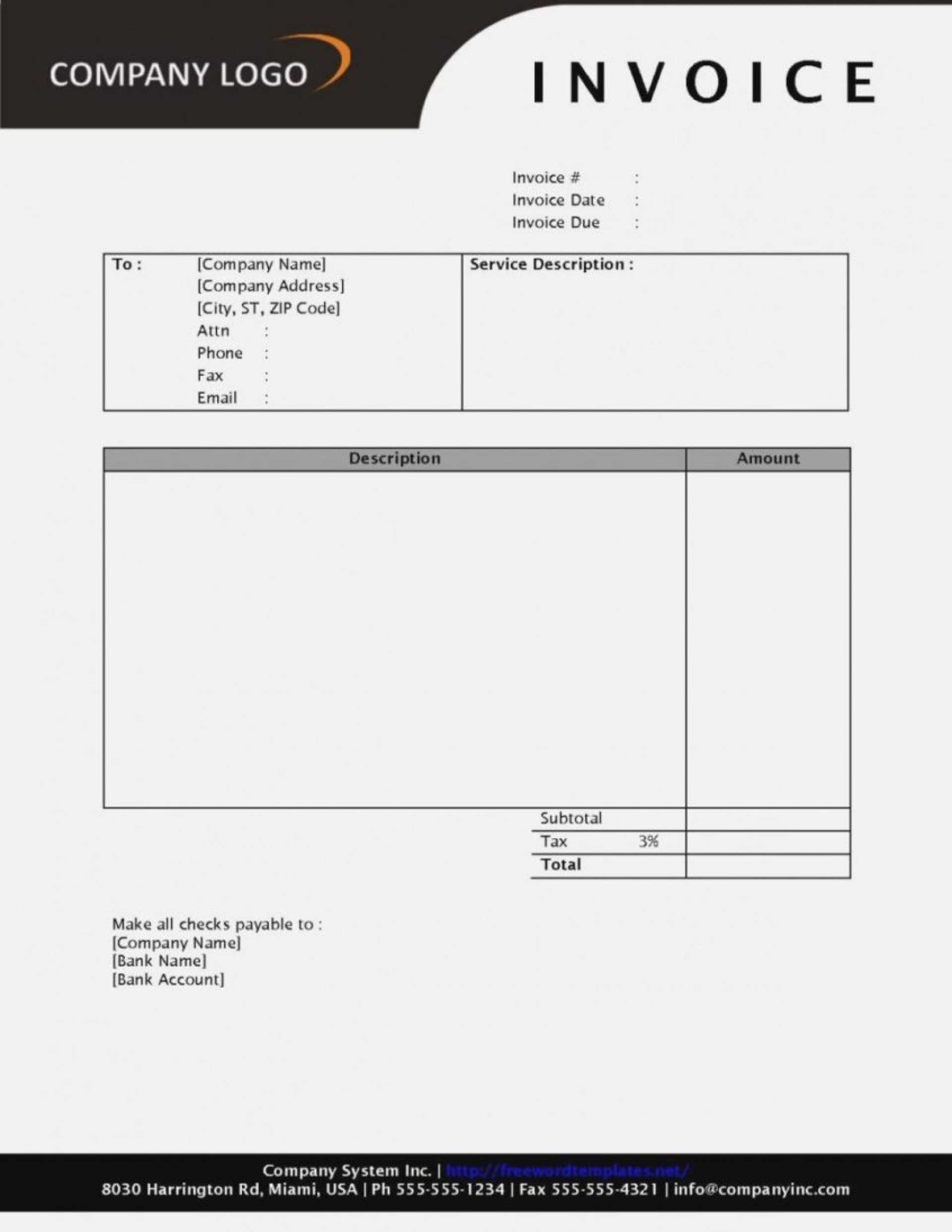 012 Invoice Template Word Free Unbelievable Ideas Proforma With Free Printable Invoice Template Microsoft Word