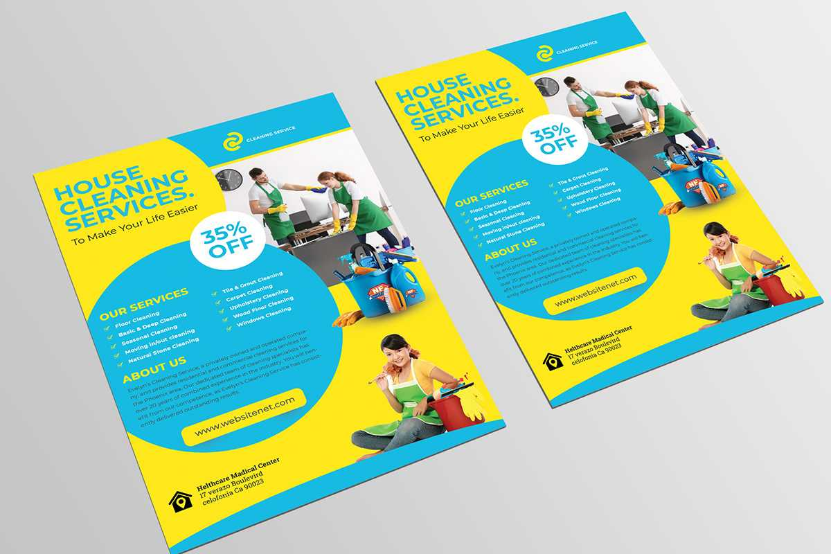 012 Template Ideas Cleaning Service Flyer Remarkable Design In Cleaning Brochure Templates Free
