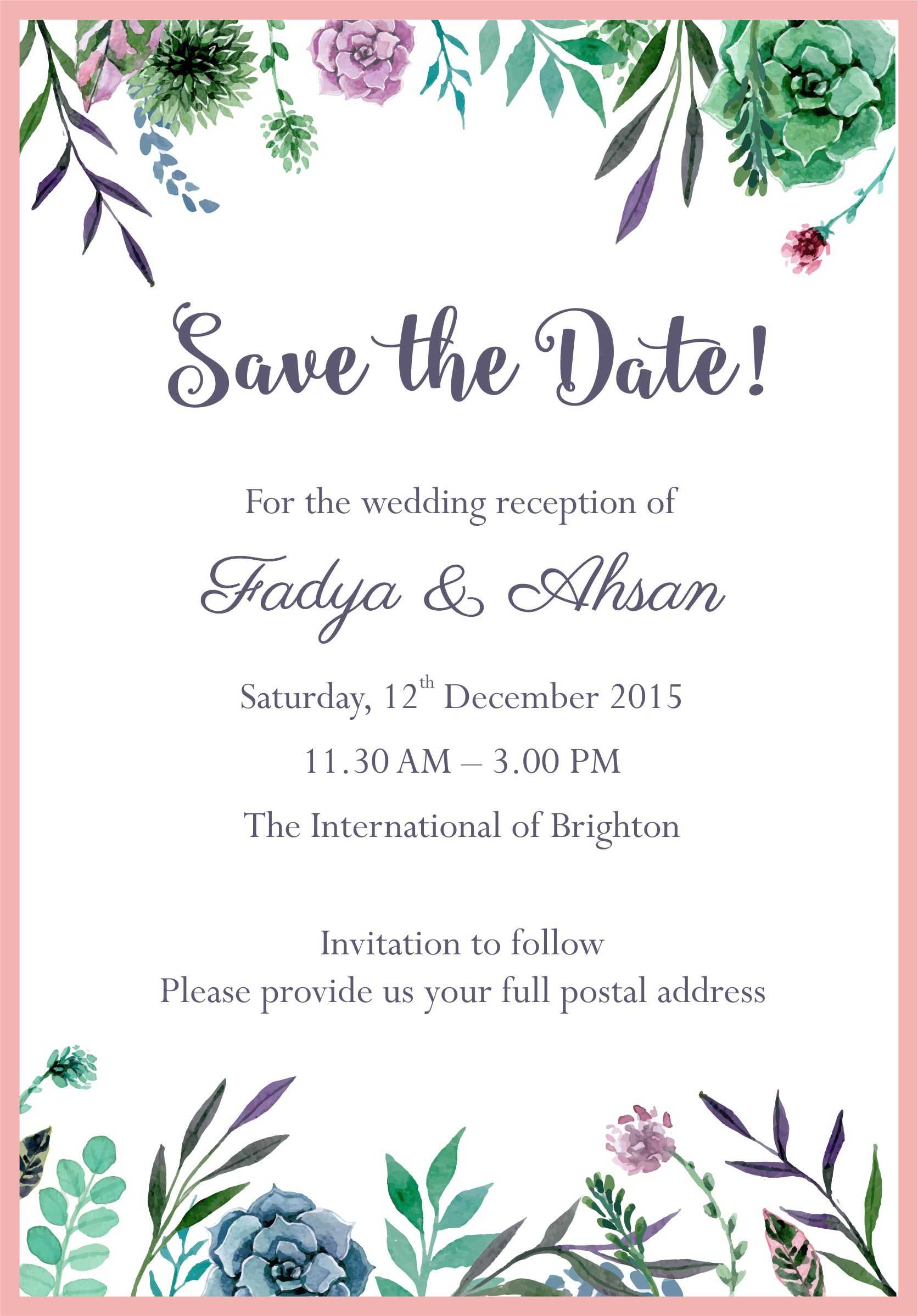 012 Template Ideas Email Wedding Invitations Free Create For Free E Wedding Invitation Card Templates