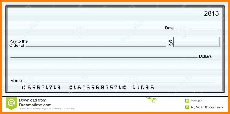 013 Free Printable Checks Template Of Editable Blank Check With Free Printable Checks Template