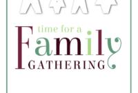 014 Family Reunion Flyer Templates Template Ideas regarding Family Reunion Flyer Template