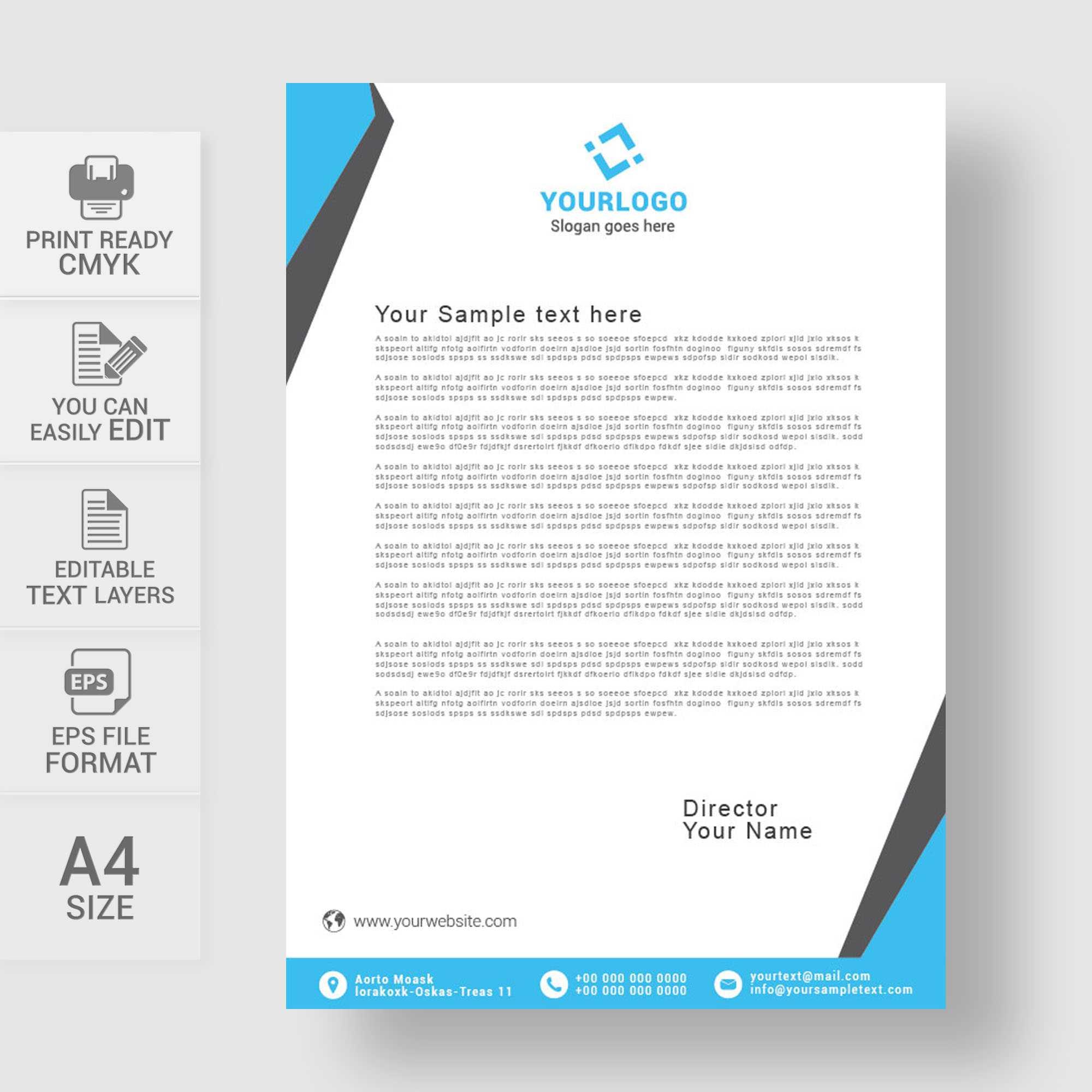 014 Free Medical Letterhead Template Amazing Design Download Throughout Free Medical Letterhead Template