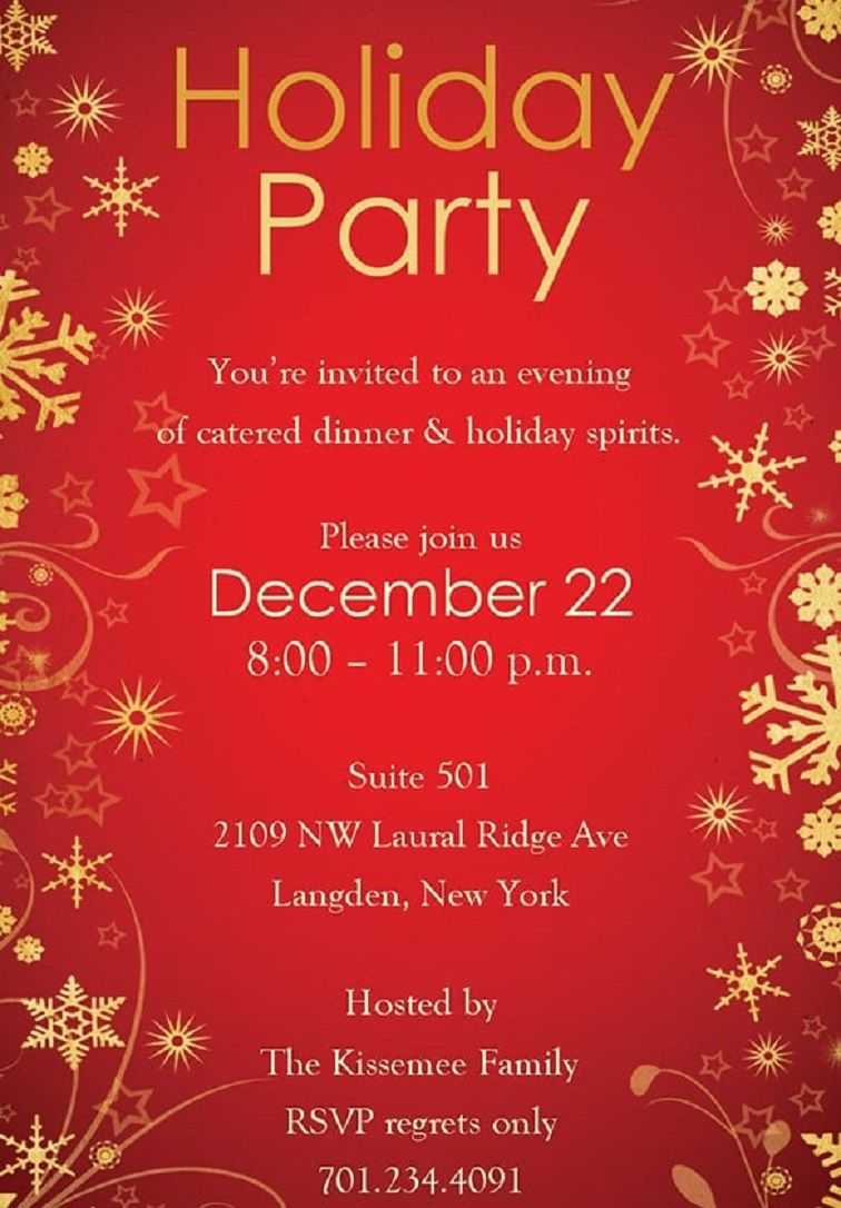 014 Template Ideas Free Download Christmas Party Flyer Inside Christmas Flyer Template Word