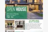 015 Free Real Estate Templates Flyers Crop Brochurethumb within Free Open House Flyer Template