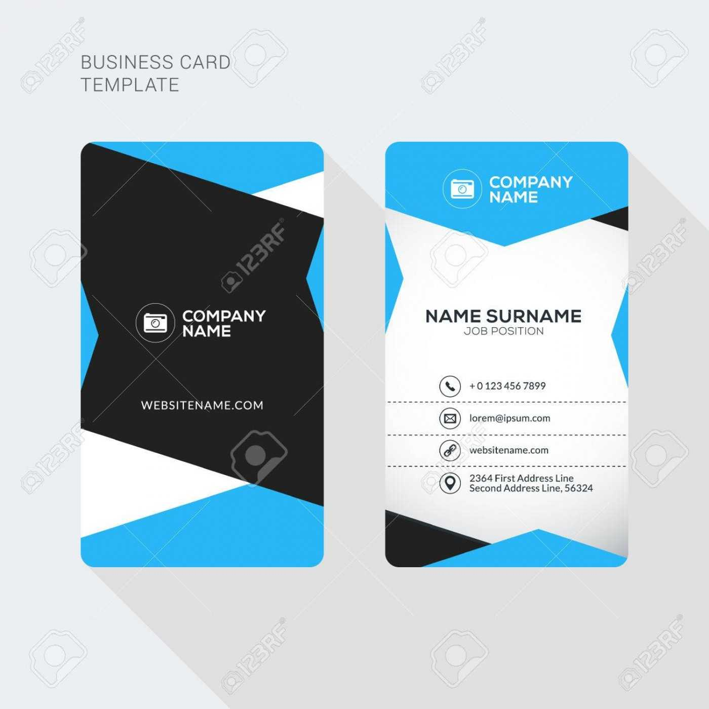 015 Template Ideas Double Sided Business Card Illustrator Within Double Sided Business Card Template Illustrator