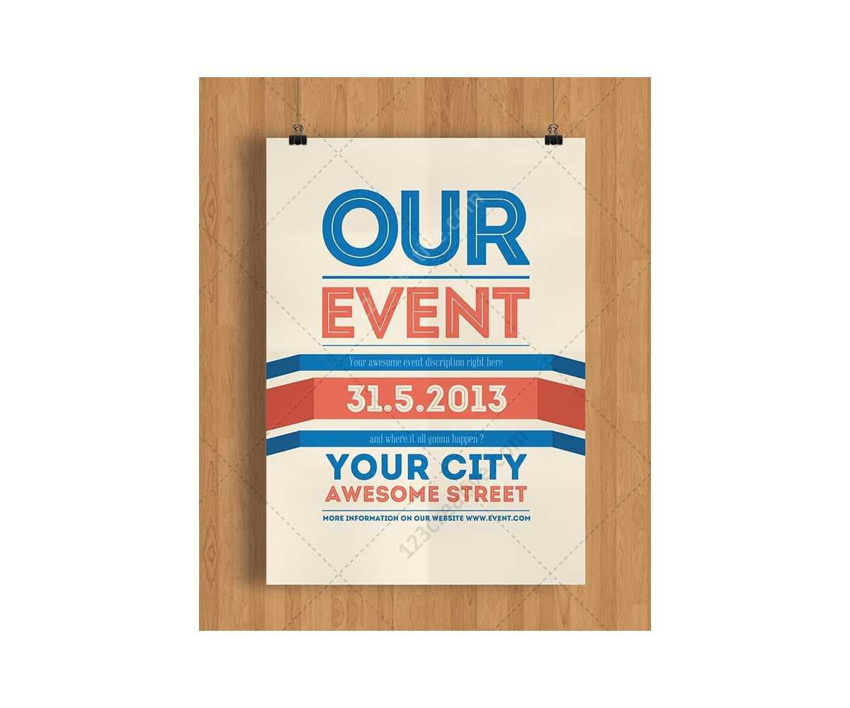 016 Template Ideas Free Printable Event Flyer Templates Regarding Free Printable Event Flyer Templates