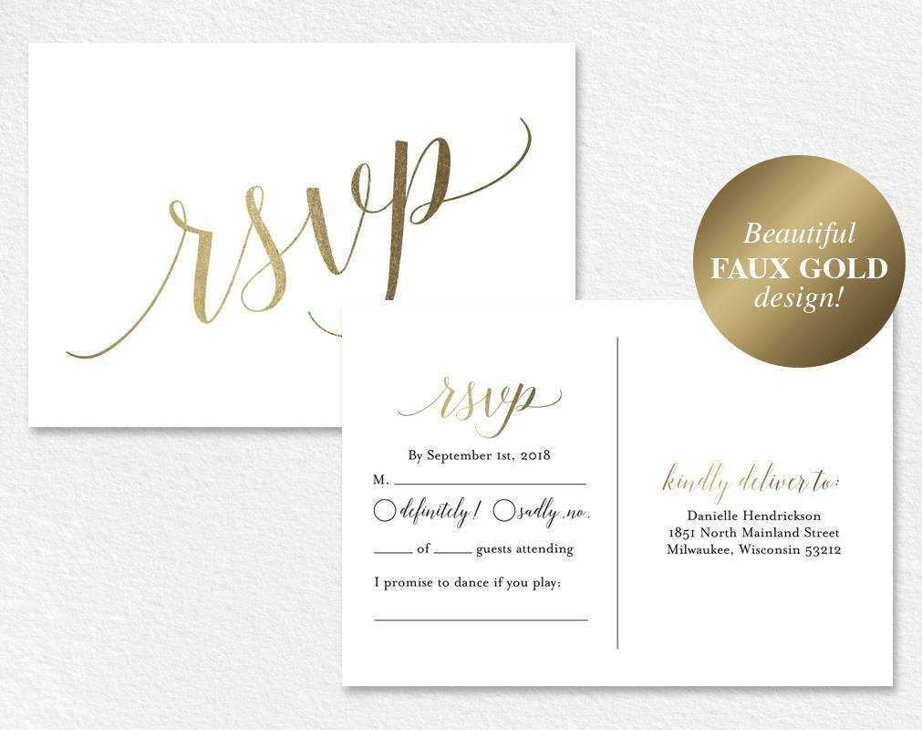 016 Template Ideas Wedding Rsvp Cards Templates Il Fullxfull With Regard To Free Wedding Rsvp Postcard Template
