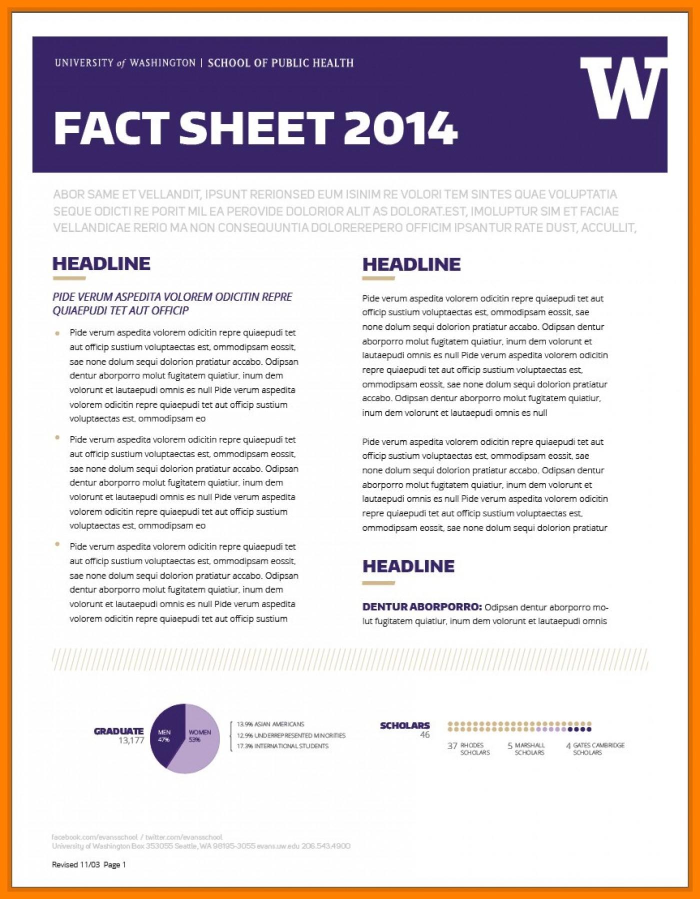 019 Free Fact Sheet Template Ideas Agec752 Developing In Fact Sheet Template Microsoft Word