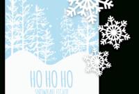 022 Blank Christmas Flyer Template Free Design Templates pertaining to Free Christmas Flyer Templates Word