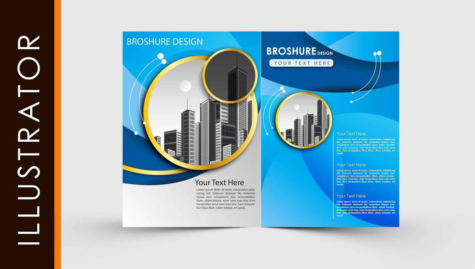 023 Brochure Templates Free Download For Photoshop Template Throughout Free Illustrator Brochure Templates Download