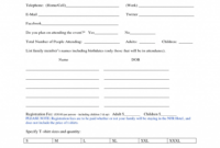 025 Printable Event Vendor Registration Form Free Word Pdf with Event Vendor Application Template