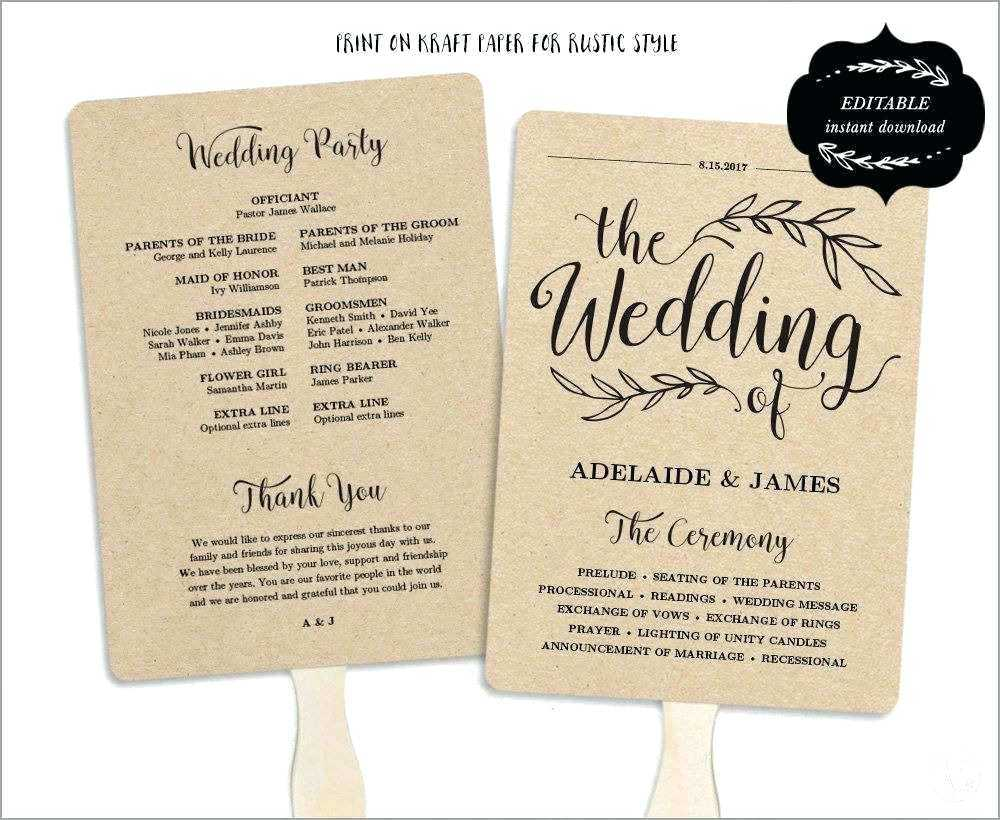 027 Template Ideas Free Printable Wedding Program Templates For Free Printable Wedding Program Templates Word