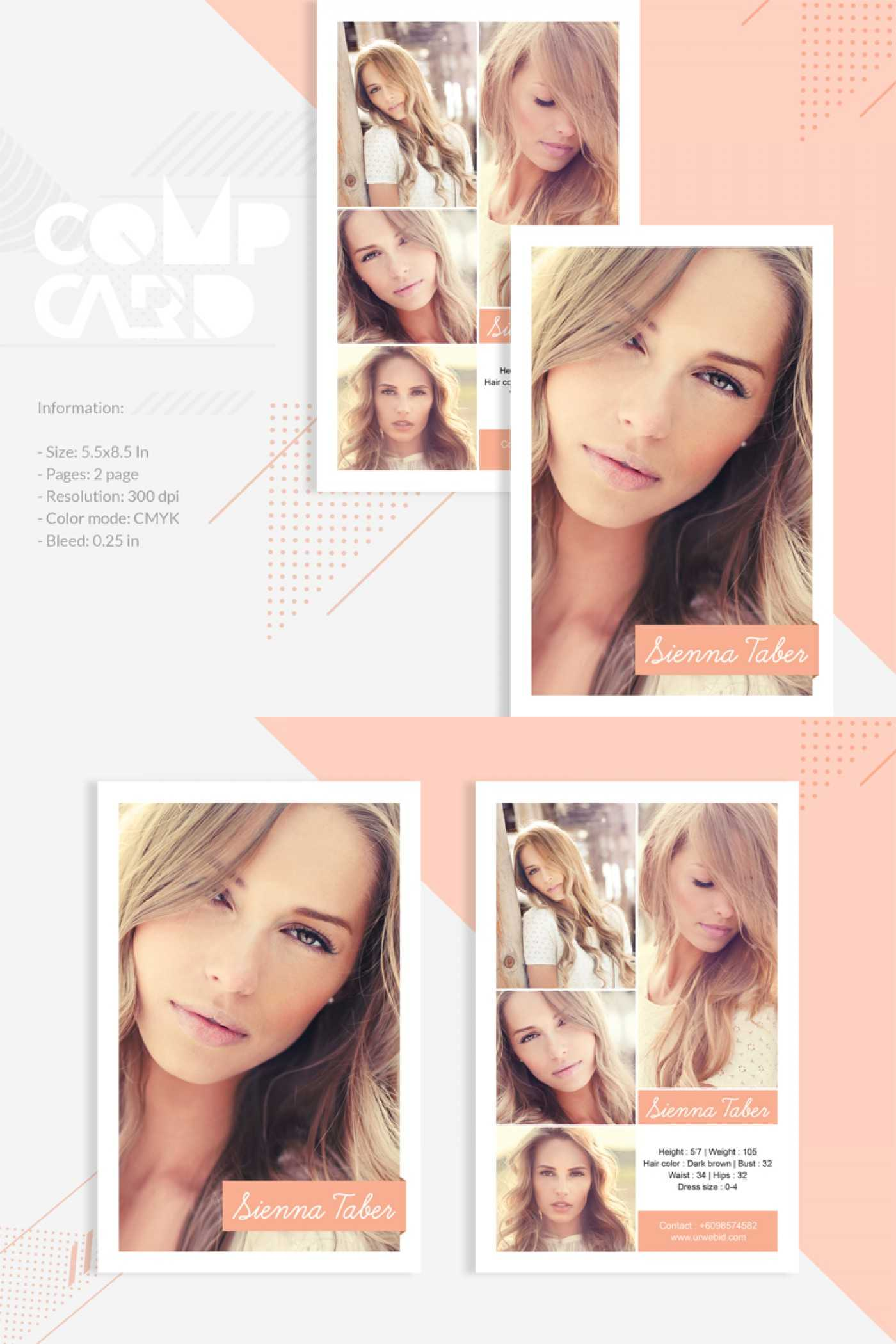 028 Model Comp Card Template Ideas Outstanding Free Throughout Comp Card Template Download