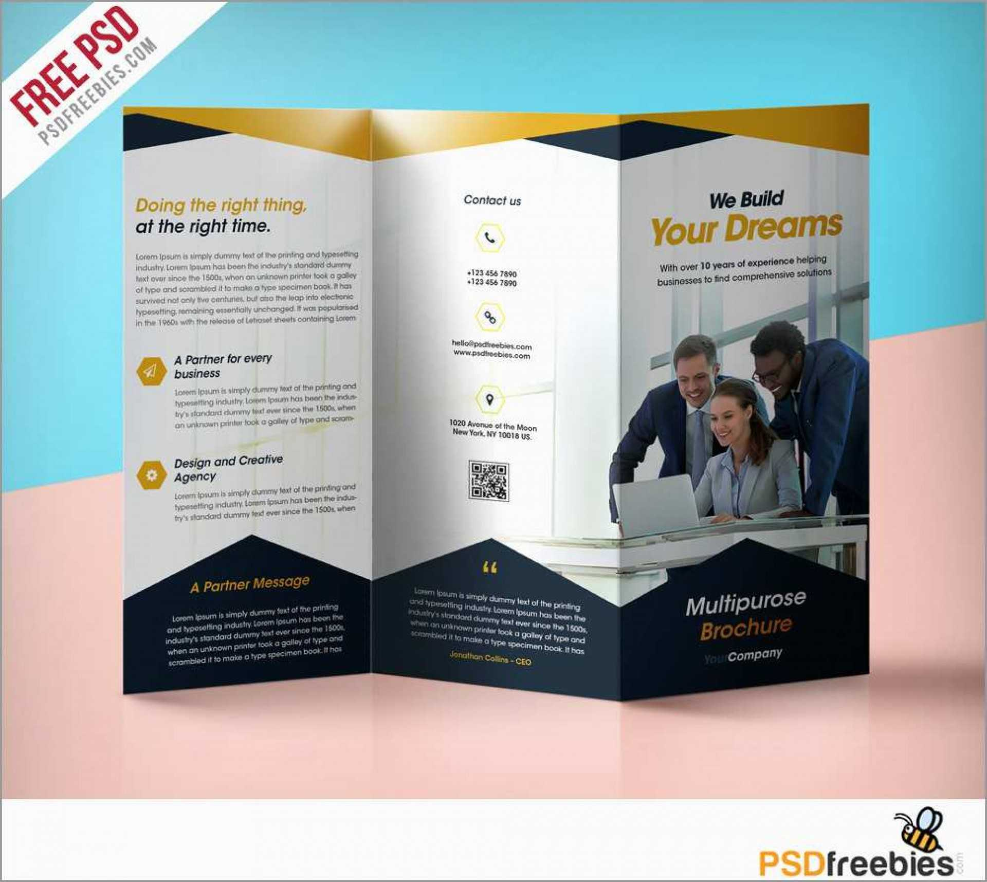 028 Wordtpls Template Ideas Brochure Templates Free Download Intended For Free Brochure Templates For Word 2010