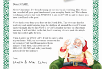 030 Letters From Santa Template Luxury Letter Templates Free for Free Letters From Santa Template