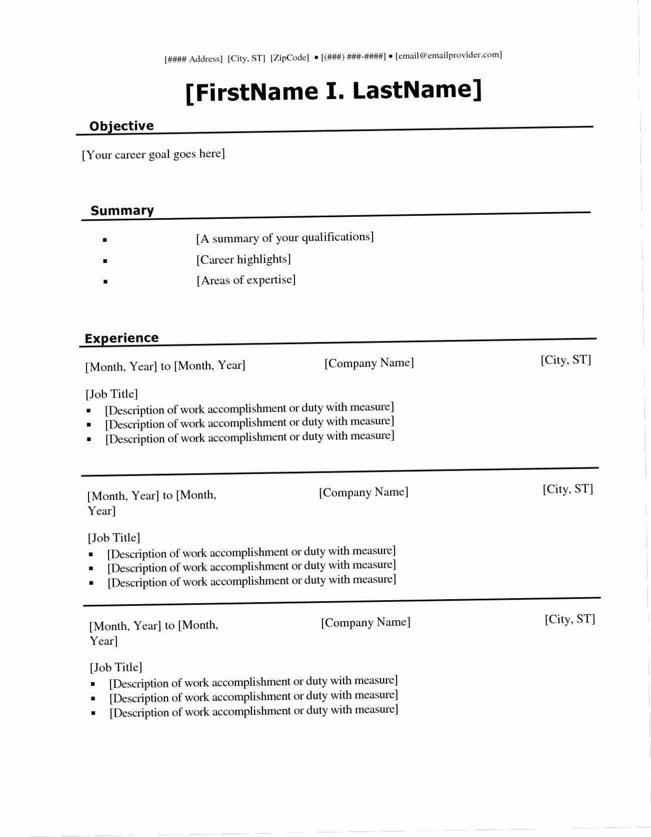 030 Student Resume Templates Microsoft Word Fill Ine For Free Blank Resume Templates For Microsoft Word