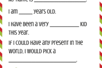 030 Template Ideas Dear Santa Hat Printable Blank Letter within Dear Santa Template Kindergarten Letter