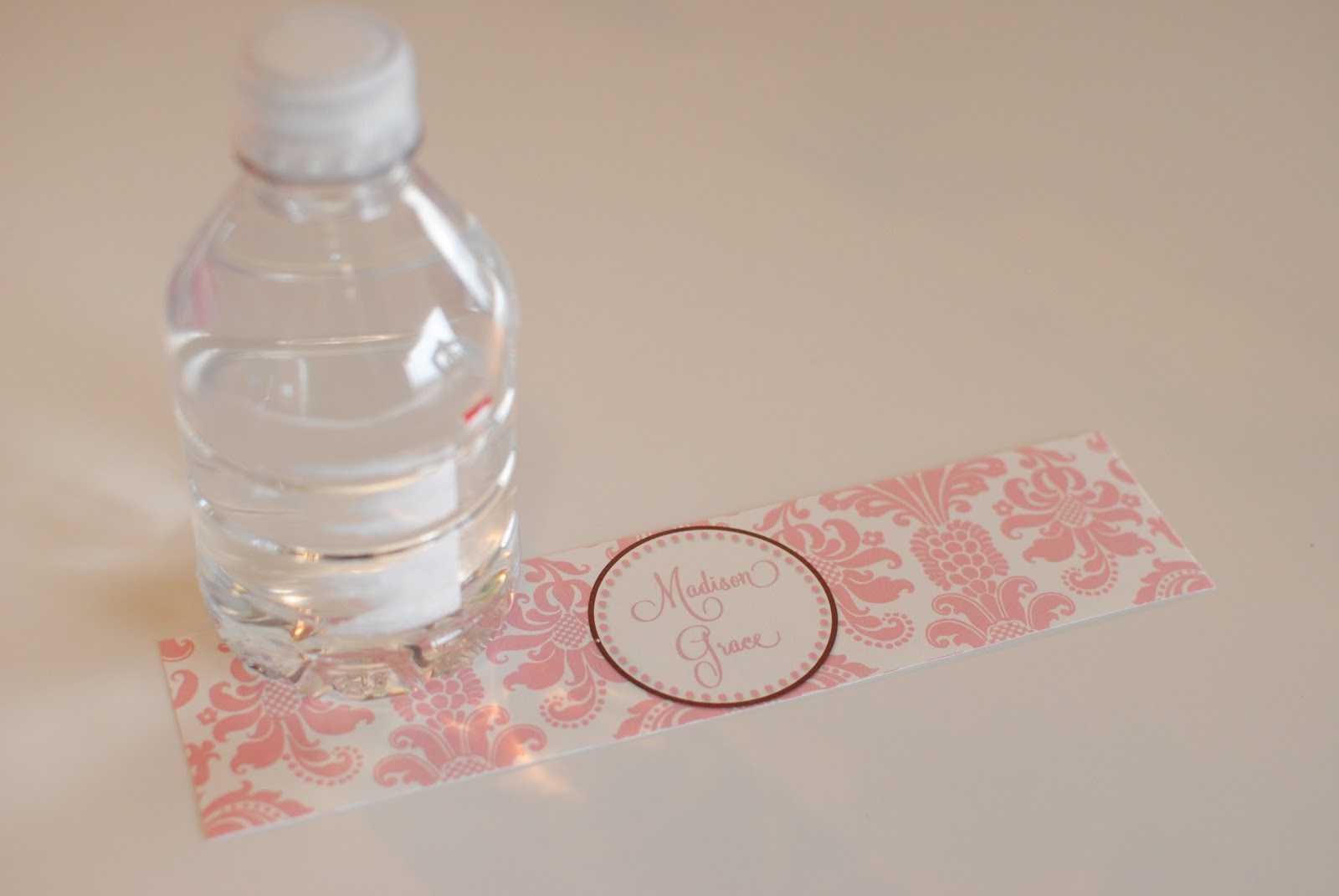 035 Waterbottlelabel1 Template Ideas Printable Water Bottle Inside Free Printable Water Bottle Label Template