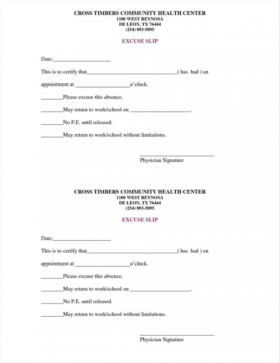 036 Doctors Note Template Pdf Ideas Forms Rhpinterestcom Intended For Free Fake Doctors Note Template