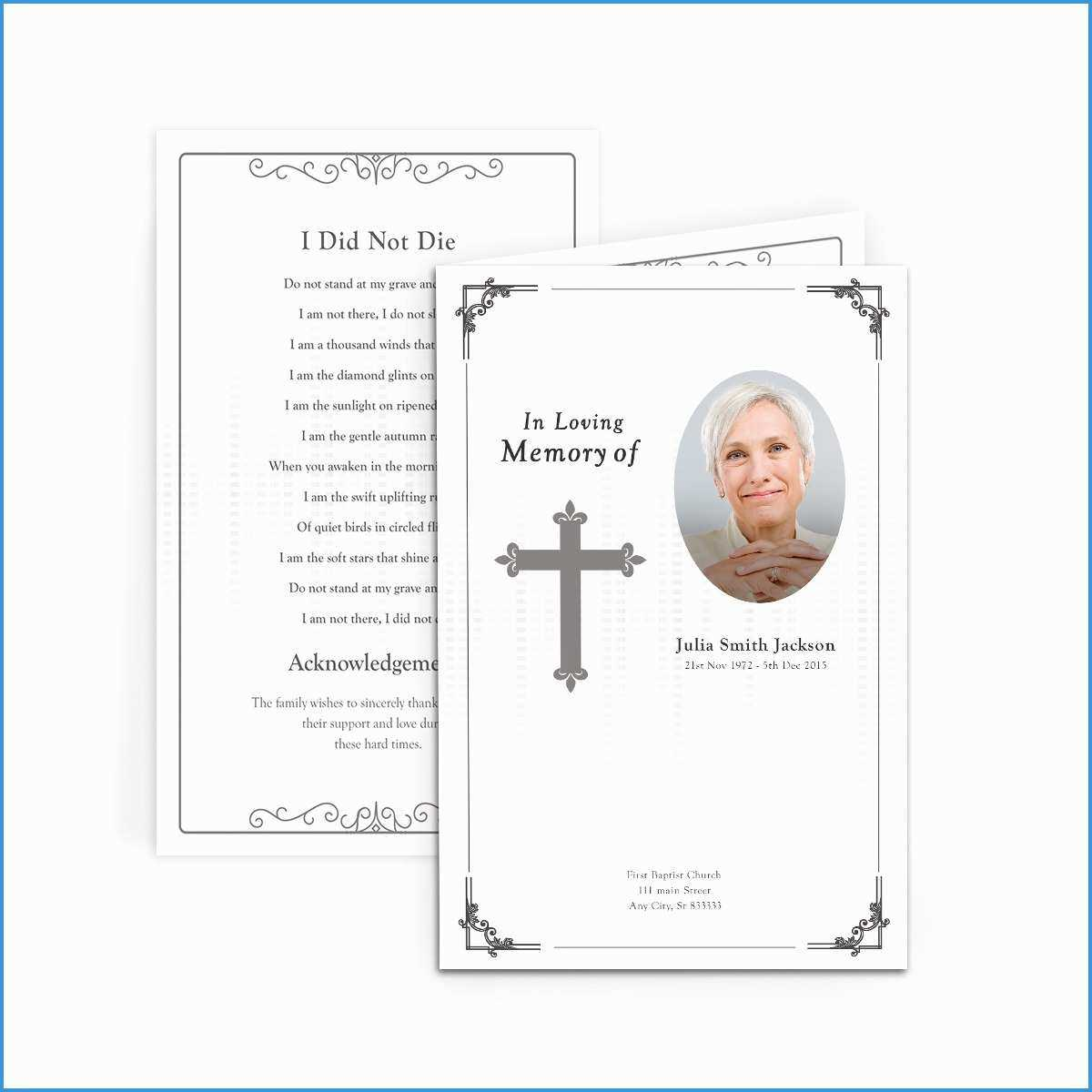 036 Template Ideas Free Funeral Invitation Card Astonishing Within Funeral Invitation Card Template