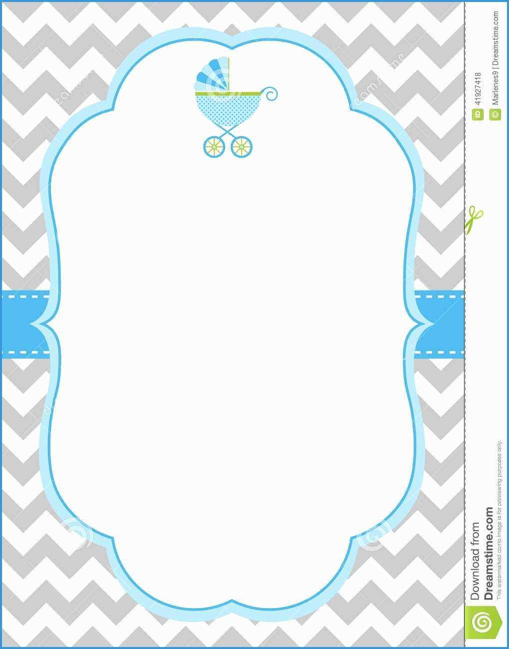 040 Free Baby Shower Invitation Templates Admirable Boy Card Within Free Baby Shower Invitation Templates Microsoft Word