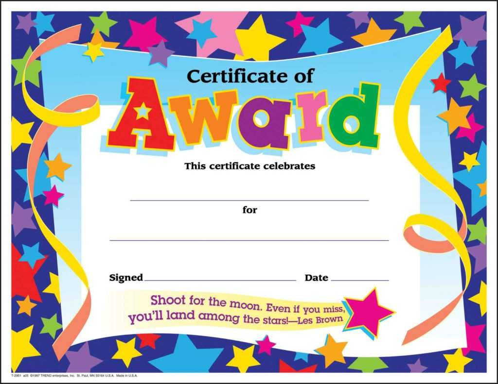 10 Certificates For Kids | Certificate Templates For Classroom Certificates Templates