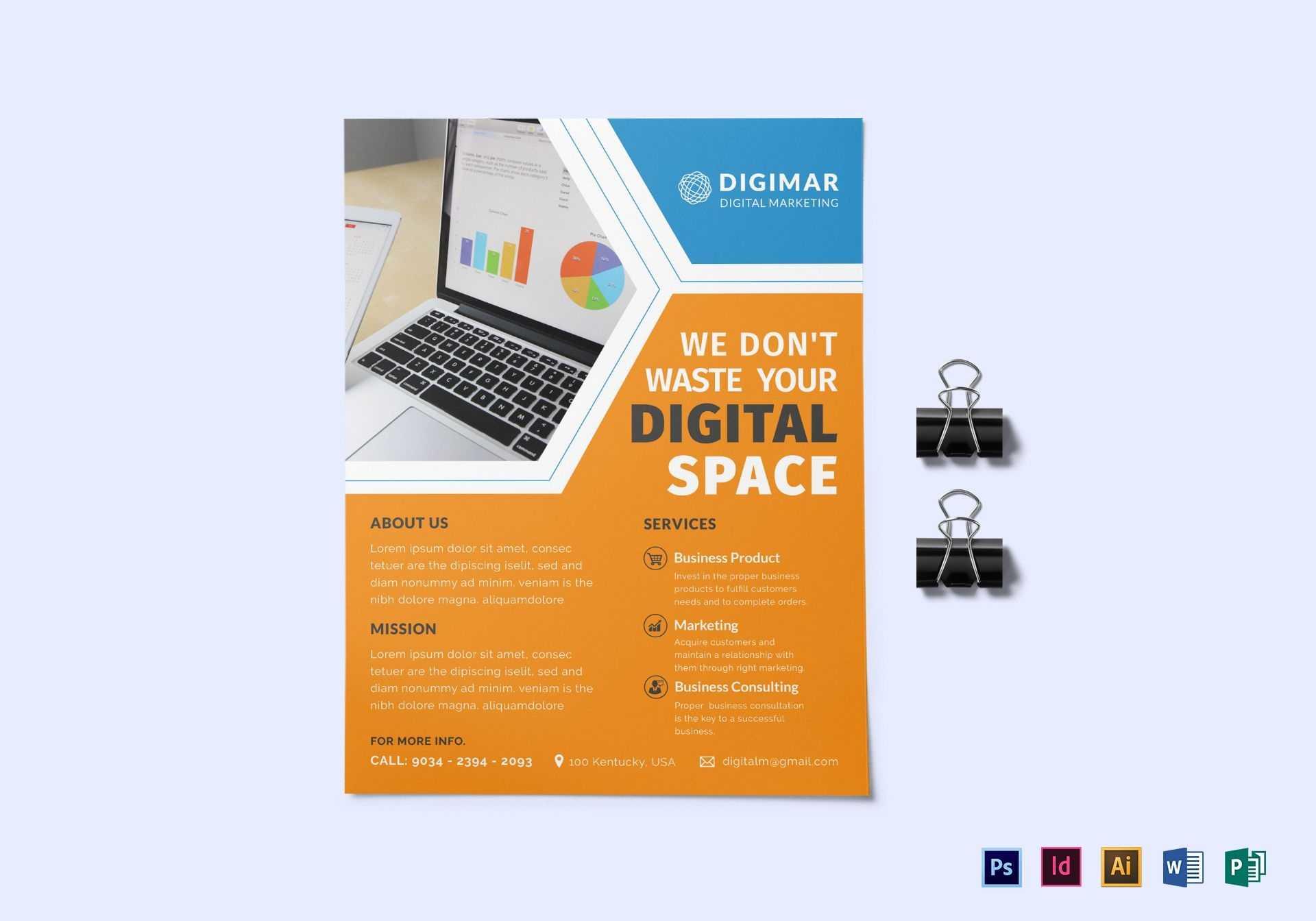 10+ Digital Marketing Flyer Templates | Free & Premium Templates Throughout Digital Flyer Templates