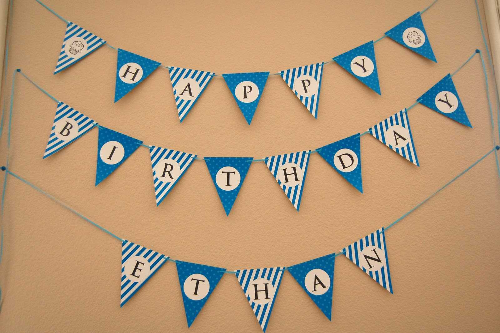 13 Happy Birthday Banner Design Images - Free Happy Birthday In Free Happy Birthday Banner Templates Download