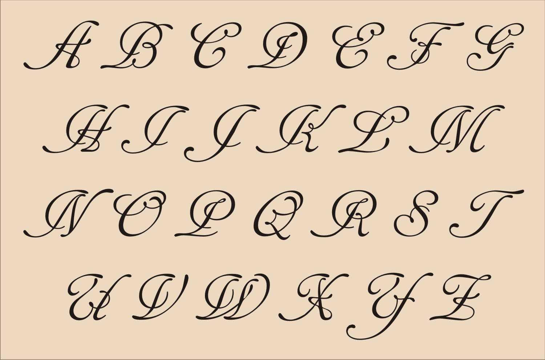 13 Printable Fancy Letter Fonts Images - Fancy Alphabet Regarding Fancy Alphabet Letter Templates