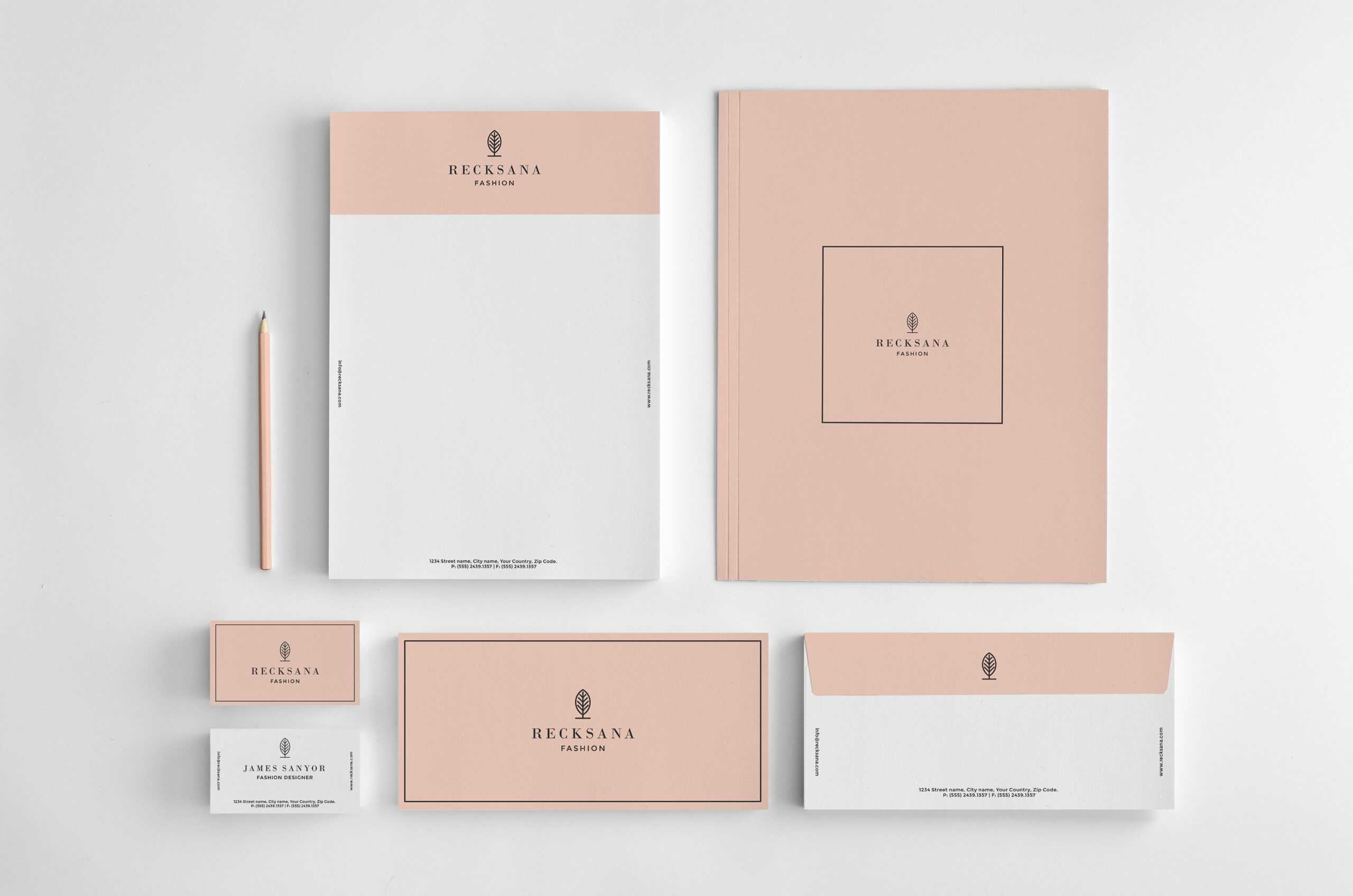 14 Examples Of Creative Letterhead Designs | Lucidpress Regarding Fancy Letterhead Templates