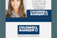 15 Simple (But Important) Things To Remember About Coldwell intended for Coldwell Banker Business Card Template