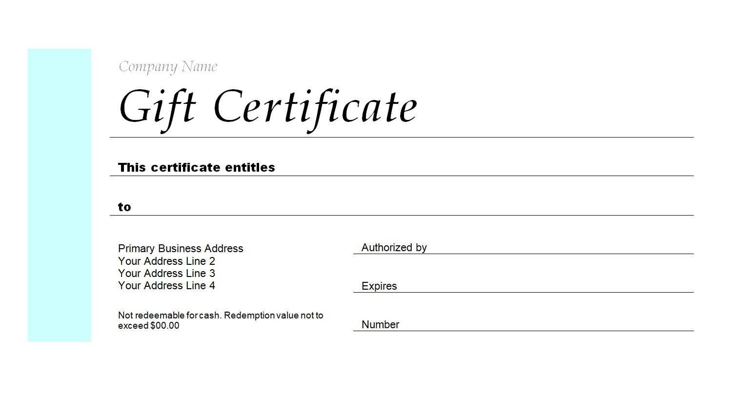 173 Free Gift Certificate Templates You Can Customize Fit To With Fit To Fly Certificate Template